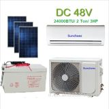 100% Solar Powered Air Conditioner Solar Air Conditioner for Home Use
