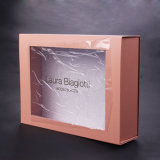 Sun Nature Colored Paper Box with Clear Window for Cosmetic Products