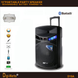 Portable Speaker with Battery Bluetooth Microphone DJ Home PRO Speaker