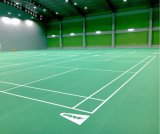 Litchi Surface Indoor PVC Flooring for Badminton