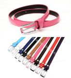 New Arrival Fashion Skinny Ladies Belts with Nice Buckle