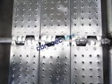 """ANSI Certified Ringlock Low Profile Steel Planks Scaffold with 9-1/2"""" (240mm) Width"""