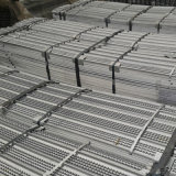0.1mm Thickness Black Iron High Ribbed Formwork
