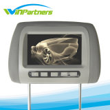 Car Monitor 7 Inch LCD Digital Screen Car Headrest Monitor Adjustable Distance 105 -230mm with 2 Video Input