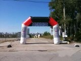 Inflatable Advertising Arches, PVC Archway, Hot Sale Arch with Logo Printing (K4022)