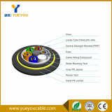 Outdoor 6 Fibers Dielectric Aerial Optical Fiber Cable with 150m Span