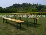Outdoor Wooden Beer Table Sets, Wood Beer Table Set