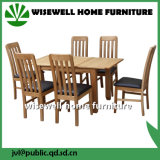 Wood Extendalbe Dining Table and Chair for Dining Room Furniture