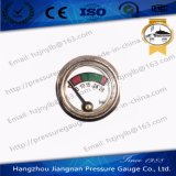 23mm Diameter Diaphragm Pressure Gauge for Fire Extinguisher