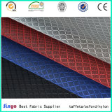 100% Polyester PU Coated 400d Jacquard Grid for Backpacks