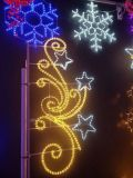 2D LED Christmas Decorative Street Pole Mounted Bell Motif Light