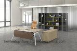 L Shape Modern Simple Office Wooden Furniture Executive Office Desk (BL-1885)