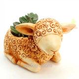 Wholesale New Fair Lovely Sheep Nice Design Miniature Flower Pots