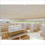 Custom Display Booth Fixtures Shelf Wood Metal Beauty Supply Store Equipment Metal and Wood Furniture Beauty Equipment Supplier