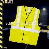 Reflective Safety Vest, Running Protection Vest, Yellow Reflective Vest