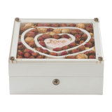 Wooden Gift Jewelry Box Packaging, MDF Ring/Bracelet Packing