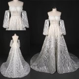 Custom Make Long Sleeves Wholesale Bridal Gown Wedding Dress
