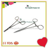 High Quality Surgical Straight 410 Stainless Steel Needle Holder