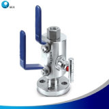 China Manufacturer Swagelok Type Monoflange Double Block and Bleed Valves