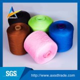 Wholesale Virgin Dyed 100% Polyester Spun Yarn for Knitting