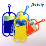 ID Card Slot Cell Phone Lanyard Neck Strap Silicone Case Cover