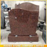 Red Granite Monument Upright Headstone for Sale