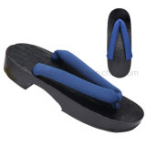 OEM Candlenut Wood Cotton Cosplay Flip Flop Slipper Clogs