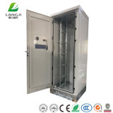 "Factory Supply 47u 19"" Rack Waterproof Telecom Outdoor Metal Cabinet with Air Conditioner"