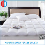 100% Cotton Goose Feather Filled Mattress Protectors for Sale