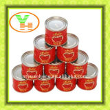 HACCP Halal Canned Tomato Paste Canned Food
