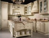 China Factory Wholesale Cheap Solid Wood Kitchen Cabinet Furniture