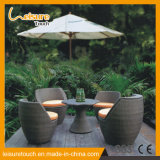 European Style Outdoor Furniture Waterproof Rattan Dining Table Set