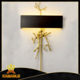 Guest Room Copper Black Color Wall Light (KW17-075)