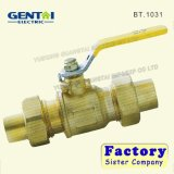 Factory Manufacture 1'' Dn25 Brass Stop Gas Ball Valve