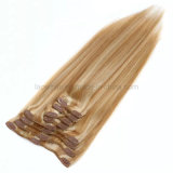 Brazilian Natural Remy Factory Direct Supply Wholesale Price PU Seamless Clip Extensions Human Hair