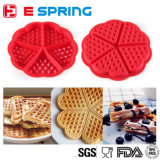 Heart Shape Waffle Mold 5-Cavity Silicone Oven Pan Baking Cookie Cake Muffin Cooking Tools Kitchen
