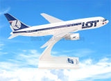 Lot Polosh Airlines B767-200 Scale Plastic Airplane Model