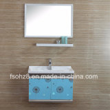 Simply But Modern Stainless Steel Bathroom Vanity with Shelf