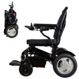 Health Care Product Lightweight Electric Power Folding Wheelchair for Elders and Disabled People