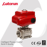 "Electric Thread End Dn50/2"" 3 Pieces Ball Valve"