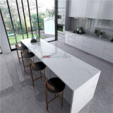 Wholesale Engineered Stone White Marble Look Quartz Slab for Countertops