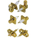 6-18GHz RF Coaxial SMA Connector for PCB Mount and Cable