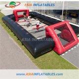 Inflatable Human Table Soccer Black-Red Table Football Backyard