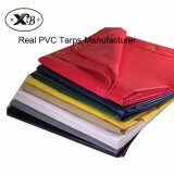Heavy Duty Knife-Knitted PVC Coated Tarpaulin Canvas for Membrane Materials