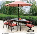 Garden Furniture Cast Aluminum Outdoor Furniture