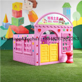 Cheap Kids Indoor Playground Play Area Used Playground Games Equipment Colorful Plastic Playhouse with Slide for Sale