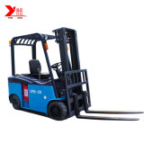 Electric Forklift Truck 2ton 3meter with Side Shift (easy to replace battery)