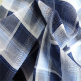 High Quality Cotton and Linen Fabric Color Plaid Breathable Shirt Fabric