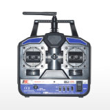 Flysky Fs 2.4G 4CH Fs-T4b Radio Model RC Transmitter & R6b Receiver Heli Helicopter Airplane