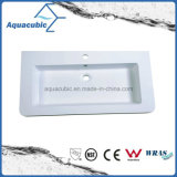 Made in China Polymarble Cabinet Basin, Artificial Stone Washbasin